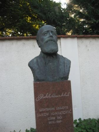 Jakov Ignjatović JakovIgnjatovicSpomenik